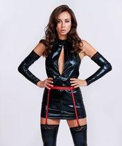 Оригинальный костюм Госпожи, цвет красный/черный, L-XL - Le Frivole