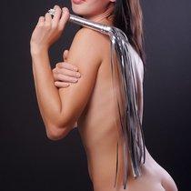 Плеть Sitabella №3, цвет серебряный - Sitabella
