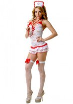 Кружевной костюм медсестры, размер S-M - Le Frivole