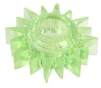 Зеленое эрекционное кольцо-солнце, цвет зеленый - Toyfa
