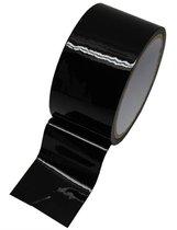 Черный скотч для бондажа - 17 м., цвет черный - Eroticon