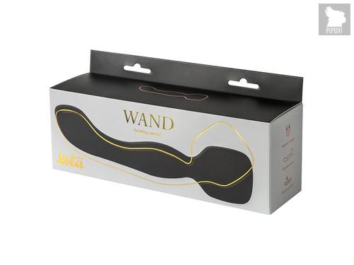Нагревающийся Вонд Heating Wand Black 1018-01lola, цвет черный - Lola Toys