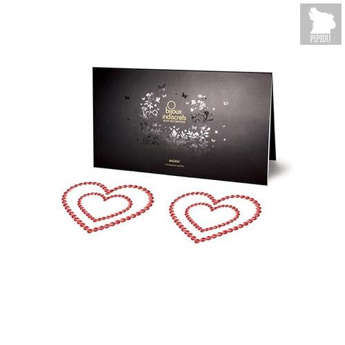 Bijoux Украшение на грудь Mimi Heart - Red, цвет красный - Bijoux Indiscrets