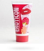 Оральная гель-смазка с ароматом малины, 50 мл - Eroticon