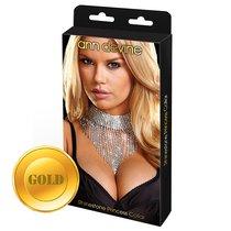 Шикарное ожерелье Queen, цвет золотой - Ann Devine