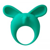 Зеленое эрекционное кольцо Fennec Phil, цвет зеленый - Lola Toys