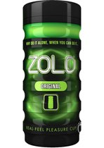 Мастурбатор ZOLO ORIGINAL CUP, цвет зеленый - Zolo