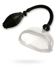 Женская помпа High Intensity Pussy Pump, цвет прозрачный - Pipedream