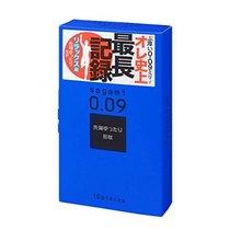Утолщенные презервативы Sagami 0.09 Natural - 10 шт. - Sagami