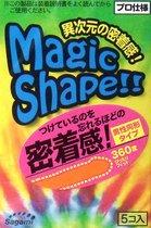 Презервативы Sagami Xtreme №5 Magic Shape, цвет розовый - Sagami