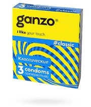 Презервативы Ganzo Classic №3, 3 шт. - Ganzo