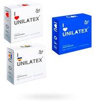 Презервативы Unilatex ассорти (классические, фруктовые, ультратонкие) - Unilatex