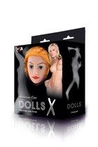 Надувная секс-кукла с реалистичной головой - Toyfa