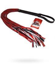 Плеть с глянцевыми шнурами 15 Tails Whip - 82 см - Erotic Fantasy