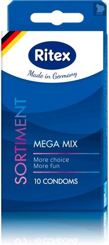 Презервативы Ritex Sortiment №10 10151RX, цвет прозрачный - RITEX