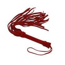 Мини-плеть «Королевский велюр» - 40 см, цвет красный - Sitabella (СК-Визит)