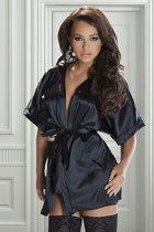 Пеньюар Rashida, цвет черный, L-XL - Avanua