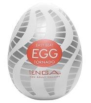 Мастурбатор-яйцо EGG Tornado, цвет белый - Tenga