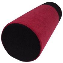 Малиново-черная подушка для любви POLI, цвет малиновый/черный - RestArt