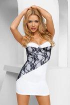 Платье Casabella, цвет белый/черный, S-M - Avanua