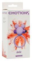 Сиреневое эрекционное виброколечко Emotions Minnie - Lola Toys