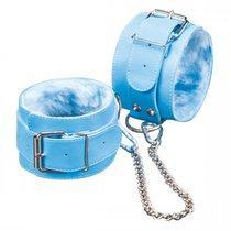 Поножи №5 СК-Визит с меховой подкладкой, цвет голубой - Sitabella (СК-Визит)