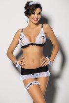 Nathella, цвет белый/черный, размер S - Angels Never Sin