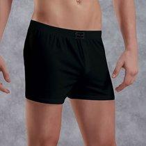Хлопковые трусы-боксеры свободного покроя, цвет черный, XL - Doreanse