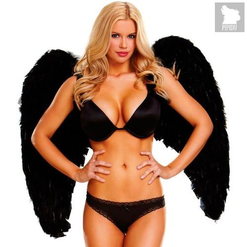 Крылья Feather Wings-Wingspan, цвет черный, OS - Electric Lingerie