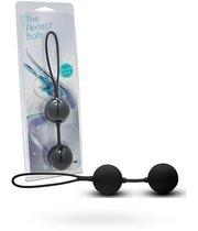 Вагинальные шарики The Perfect Balls, цвет черный - Seven Creations