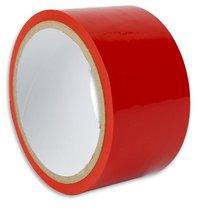 Красная липкая лента для фиксации, цвет красный - Пикантные штучки