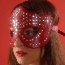 Очки-маска профурнитуренная, цвет красный - Подиум