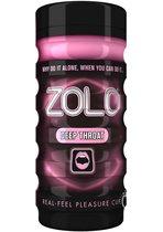 Мастурбатор ZOLO DEEP THROAT CUP, цвет розовый - Zolo