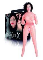 Надувная секс-кукла с реалистичным личиком и подвижными глазами - Toyfa