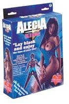 Темнокожая секс-кукла Alecia, цвет коричневый - Nanma (NMC)