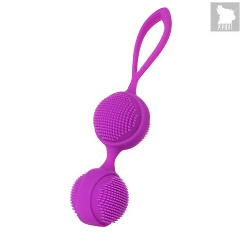 Вагинальные шарики с ресничками JOS NUBY фиолетовый, цвет фиолетовый - Jos