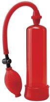 Вакуумная помпа Beginners Power Pump, цвет красный - Pipedream