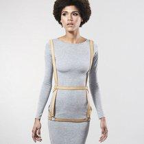 Бежевая упряжь ARROW DRESS HARNESS, цвет бежевый - Bijoux Indiscrets
