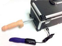 Секс-машина с 2 сменными насадками и вибратором - Myworld - diva