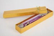 Наручники из фиолетовых бус - White Label