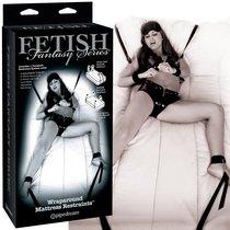 Фиксаторы Wraparound Mattress Restraints для кровати, цвет черный - Pipedream