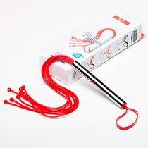 Плеть Sitabella №2 с шариками, цвет красный - Sitabella