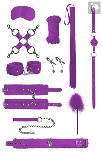 Фиолетовый игровой набор БДСМ Intermediate Bondage Kit, цвет фиолетовый - Shots Media