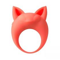 Оранжевое эрекционное кольцо Lemur Remi, цвет оранжевый - Lola Toys