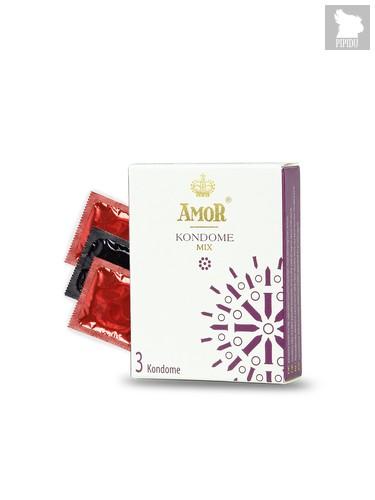 Презервативы Amor Mix №3 3828AM - Amor