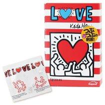 Презервативы Sagami LOVE Keith Haring - 12 шт., цвет телесный - Sagami