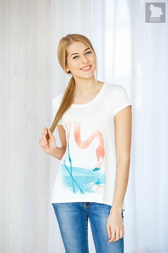 Футболка Flamingo, размер S - Trikozza