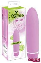 Розовый вибратор Smile Mini Comfy - 13 см - ORION