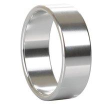 Широкое металлическое кольцо Alloy Metallic Ring Extra Large - California Exotic Novelties
