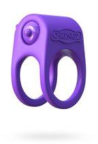 Виброкольцо Silicone Duo-Ring на пенис и мошонку, цвет фиолетовый - Pipedream